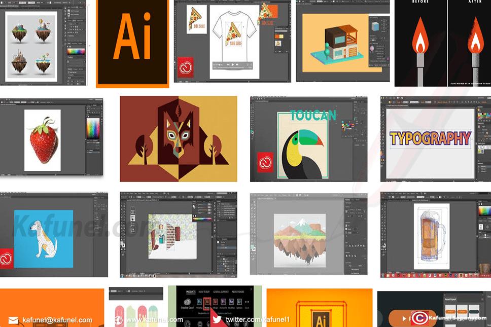 Ce Tutoriel Explique Comment Realiser Une Carte De Visite Avec Adobe Illustrator