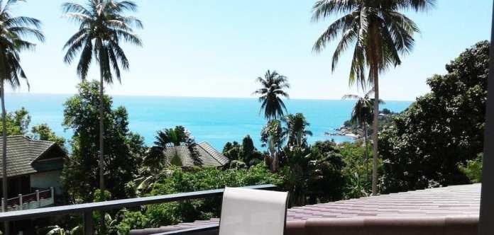 01-Villa Samui (Sud Thailand) vue sur mer