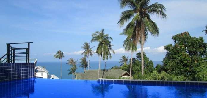 02-Villa Samui (Sud Thailand) vue sur mer