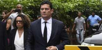 Le juge Moro est un héros pour des millions de Brésiliens. @ MAURO PIMENTEL / AFP