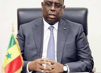 Macky Sall¹, Président de la République du Sénégal, 05 Janvier 2016