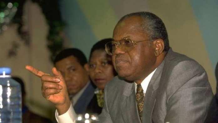 Etienne Tshisekedi a fondé l'UDPS en 1982 et en a fait le plus grand parti d'opposition.