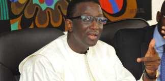 Amadou Bâ - Ministre de l'Economie, des Finances et du Plan