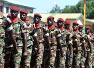 Un défilé de l'armée guinéenne. (Photo d'illustration.)