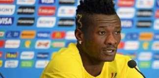 Asamoah Gyan ne pense qu'à la victoire finale à la CAN 2019 (Médias)