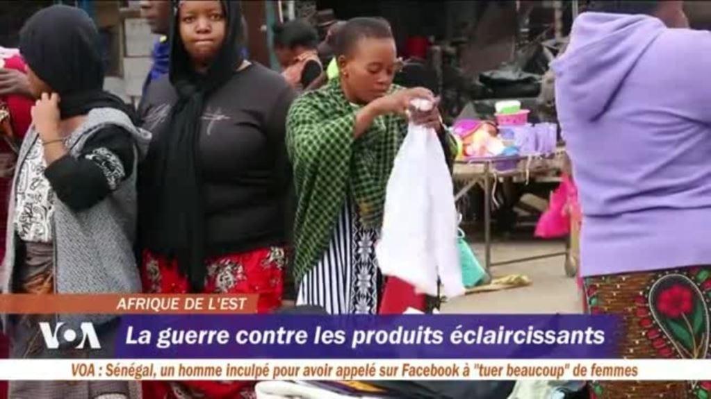 La guerre des produits éclaircissants la peau (reportage )