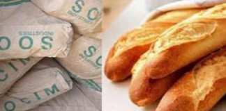 Vers une hausse des prix du Ciment et du pain!