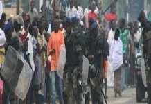 Ziguinchor -Manifestations des étudiants de l'UASZ, un bléssé