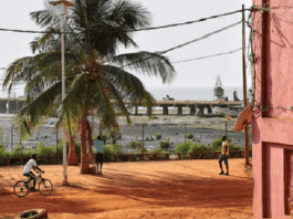 Et nous vous laissons avec cette image de la Guinée Bissau: