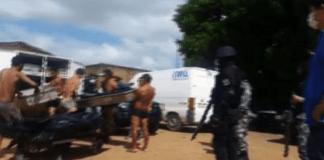 Exclusif-Brésil: les corps de détenus tués évacués d'une prison