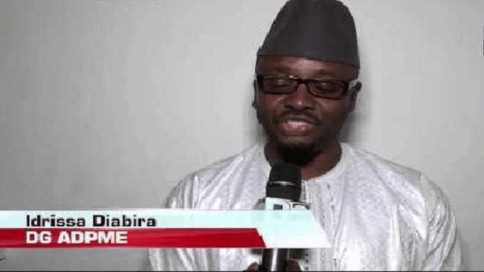 Idrissa Diabira, directeur général de l'ADPME