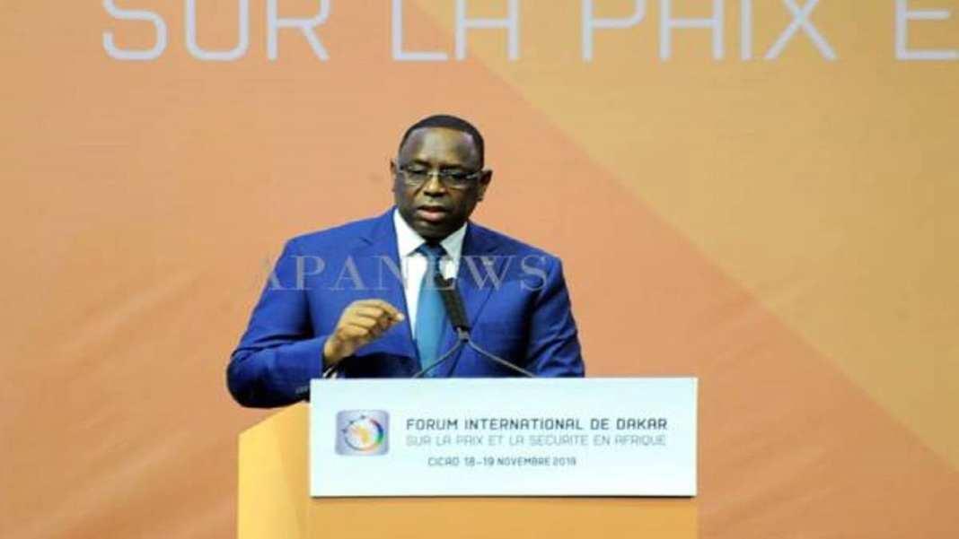 Macky Sall pour un commandement unique des forces militaires au Sahel