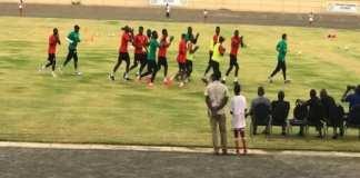 Premier galop d'entrainement des Lions à Thiès : Mané, Niang et Mendy absents