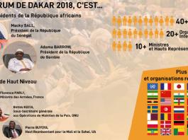 Forum International de Dakar 2018 en chiffres © Forum de Dakar