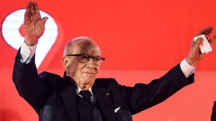 Beji Caid Essebsi , président tunisien, 92 ans (notables)