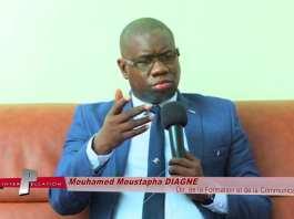 Mohamed Moustapha Diagne, porte-parole du ministère de l'Education nationale (MEN)