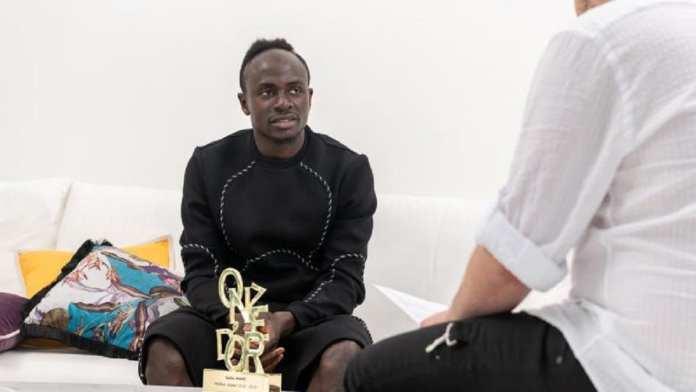 Eusébio Prix- Sadio-Mané-Onze-d-Or-2019-