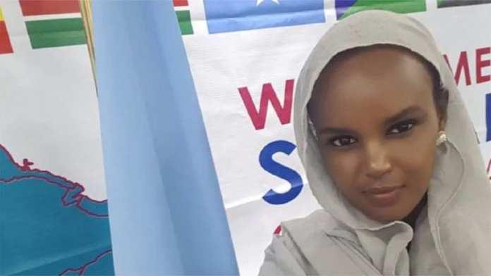 lmaas Elman , militante somalo-canadienne