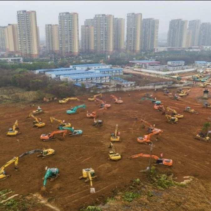 10 jours pour construire un hôpital l'incroyable projet chinois face au nouveau coronavirus6