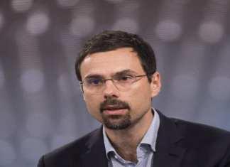 Ondrej Vlcek, président-directeur général d'Avast, s'excuse pour la vente de son entreprise sur le Web des utilisateurs habitudes. SIMON DAWSON / BLOOMBERG