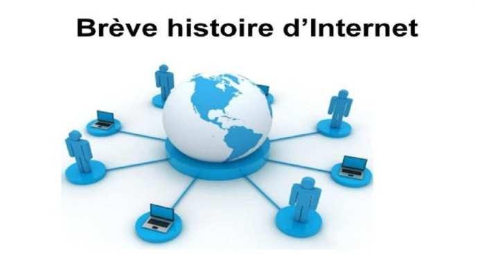 Brève histoire d'Internet web