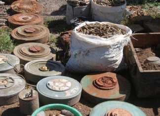 Désamorçage de 38 engins explosifs à Lunda Sul