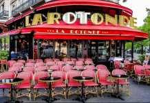 La Rotonde, célèbre brasserie parisienne, touchée par un incendie