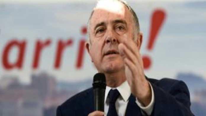 Biarritz - Le ministre de l'agriculture Didier Guillaume à Biarritz le 11 janvier 2020