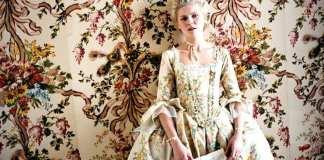 Marie Antoinette de SofiaCoppola avec Kirsten Dunst, 2006.