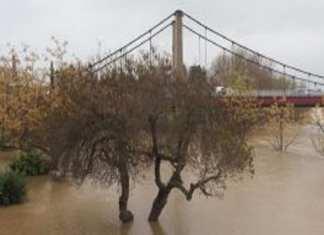 cinq départements en alerte orange innondation