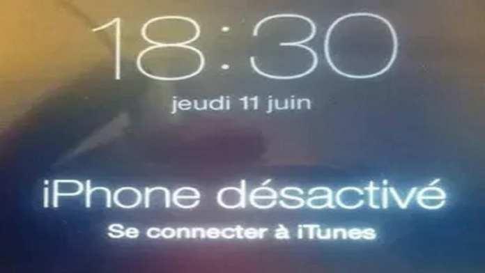 iphone-desactive