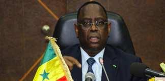 Coronavirus Macky Sall annule son agenda diplomatique et recommande de ''différer'' certains événements