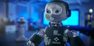 """C'est le genre de robot qui pourrait bénéficier d'une """"intelligence sociale""""."""