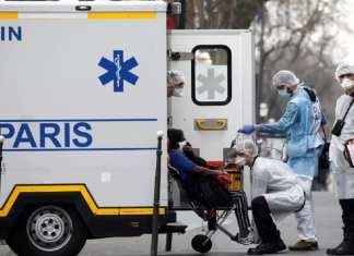 Le 21 mars 2020, la direction générale de la Santé a également fait état de 6 172 hospitalisations, dont près de 1 525 cas graves en réanimation. © REUTERS/Benoit Tessier/File Photo