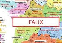 Coronavirus : Non, cette carte ne montre pas le calendrier du déconfinement en France