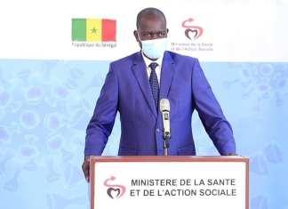 Docteur Aloyse Waly Diouf , Porte-Parole du Ministère de la Santé et de l'Action sociale - Coronavirus _ Point de situation du Jeudi 23 Avril 2020