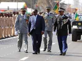 Une prise d'Armes pour célébrer le 60e anniversaire de indépendance, samedi