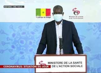 docteur Aloyse Waly Diouf, directeur de cabinet du ministre de la Santé
