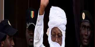 Hissein Habré retourne en prison après avoir purgé 60 jours de sa peine à domicile