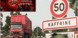 Covid-19 Une nouvelle contamination dans la commune de Kaffrine-Capture