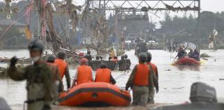 Inondations meurtrières au Japon les secours peinent à intervenir