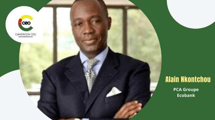 Le camerounais Alain Nkontchou, nouveau PCA du Groupe Ecobank+