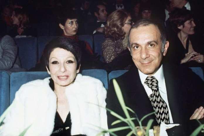 Zizi Jeanmaire et le chorégraphe Roland Petit lors du spectacle1