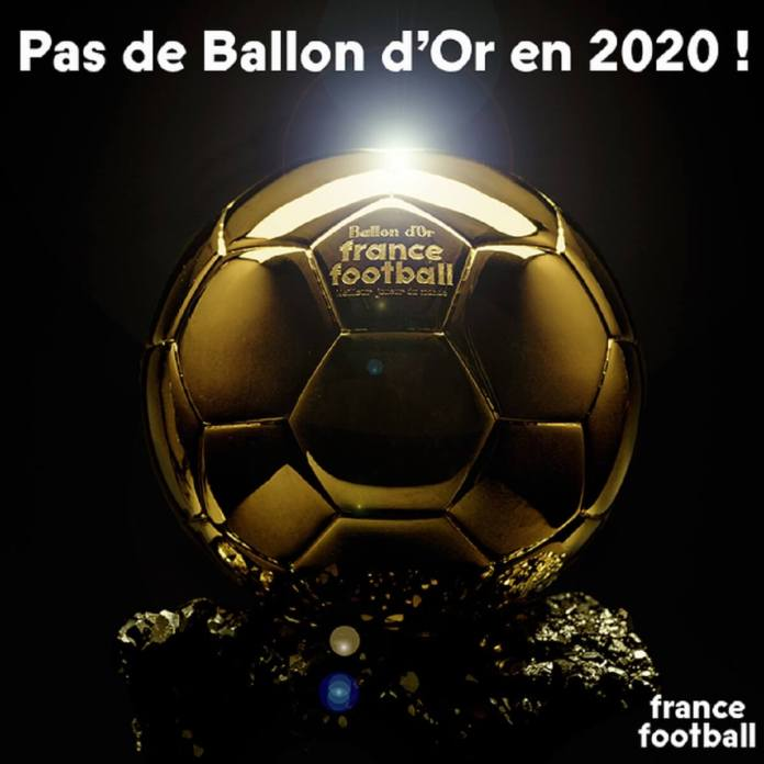 pas de ballon d'or en 2020