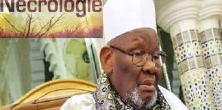 Décès du Khalife de Général de Médina Baye, Cheikh Ahmed Tidiane Ibrahima Niass