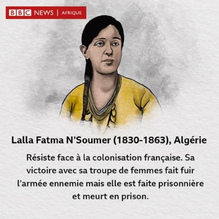 Lalla Fatma N'Soumer, combattante de l'indépendance de l'Algérie