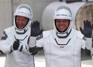 Space X Les deux astronautes américains de retour sains et saufs sur Terre