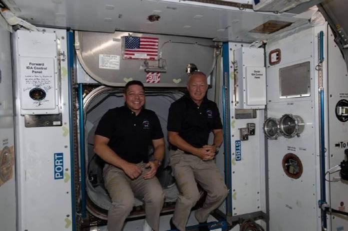 SpaceX Les deux astronautes américains Behnken et Hurley doivent quitter l'ISS le 1er août