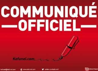 Communique_Officiel Kafunel.com