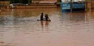 Inondations au Sahel des milliers d'hectares de rizières sous les eaux